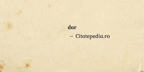 Poezii despre dor