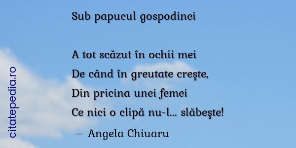 poezie despre scăderea în greutate)