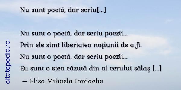 Citate Similare Cu Nu Sunt O Poet Dar