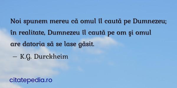 Dumnezeu cauta omul)