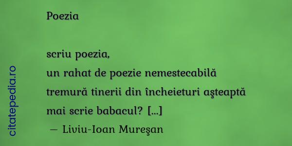 Citate Similare Cu Scriu Poezia Un Rahat De Poezie