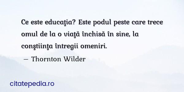 Imagini pentru Thornton Wilder citate